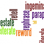 Paraphrasing Rules for Essay Writing