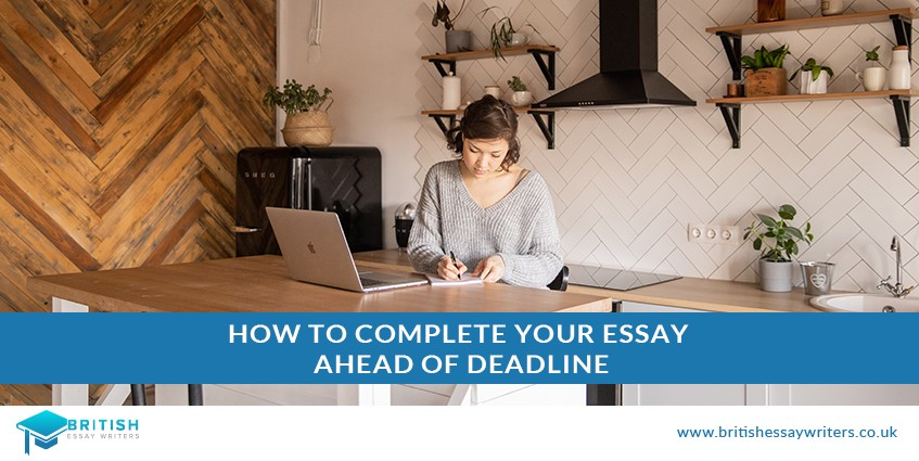 how to complete essay